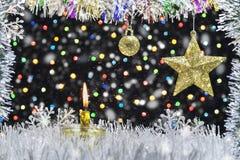 Decorazione di Natale e del nuovo anno immagine stock