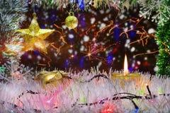 Decorazione di Natale e del nuovo anno immagini stock libere da diritti