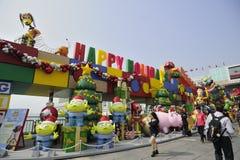 Decorazione di natale a Hong Kong Fotografie Stock Libere da Diritti