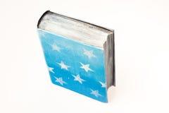 Decorazione di natale Libro Le stelle sulla copertura Fotografia Stock Libera da Diritti