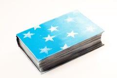 Decorazione di natale Libro Le stelle sulla copertura Immagine Stock