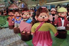 Decorazione di Natale nel centro commerciale Immagini Stock