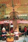 Decorazione di Natale nel centro commerciale Immagine Stock Libera da Diritti