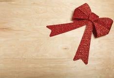 Decorazione di Natale nel fondo di legno Immagine Stock