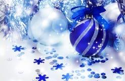 Decorazione di natale Nuovo anno Fotografie Stock Libere da Diritti