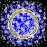 Decorazione di Natale su un fondo festivo Fotografia Stock