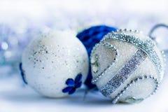 Decorazione di ornamenal del nuovo anno e di Natale Immagini Stock