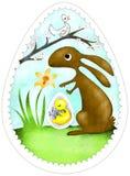 Decorazione di Pasqua Fotografia Stock