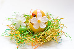 Decorazione di Pasqua fotografie stock libere da diritti