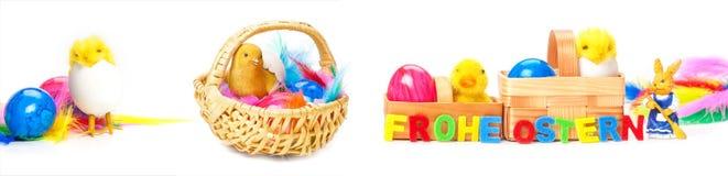 Decorazione di Pasqua, carta di pasqua Immagine Stock