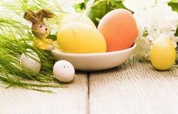 Decorazione di Pasqua con coniglio Fotografie Stock