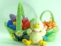 Decorazione di Pasqua con le uova Fotografia Stock