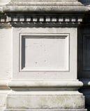 Decorazione di pietra Fotografia Stock Libera da Diritti