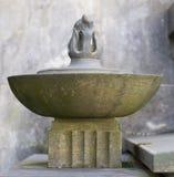 Decorazione di pietra (modello astratto) Immagini Stock