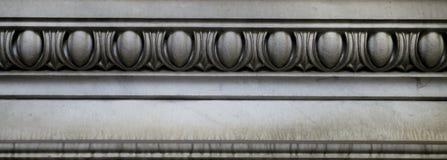 Decorazione di pietra (modello astratto dell'elemento) Fotografia Stock