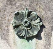 Decorazione di pietra (modello astratto della natura) Fotografia Stock Libera da Diritti