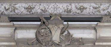 Decorazione di pietra (modello astratto della natura) Immagini Stock