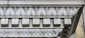 Decorazione di pietra (modello astratto della natura) Immagine Stock