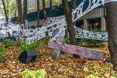 Decorazione di Ronde Halloween della La Fotografia Stock Libera da Diritti