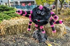 Decorazione di Ronde Halloween della La Immagine Stock Libera da Diritti