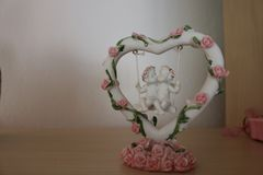 Decorazione di simbolo di amore Immagini Stock Libere da Diritti