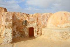 Decorazione di Star Wars nel deserto di Sahara Fotografie Stock Libere da Diritti