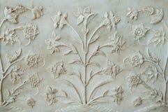 Decorazione di Taj Mahal fotografie stock