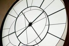 Decorazione di vetro a forma di rotonda Fotografie Stock