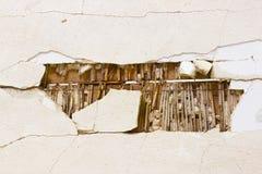 Decorazione distrutta parete Immagine Stock Libera da Diritti