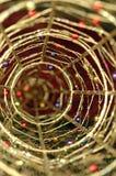Decorazione dorata Immagine Stock