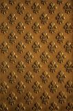 Decorazione dorata al portone del palazzo di Les Invalides a Parigi immagine stock