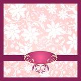 Decorazione elegante del fiore - rosa Fotografie Stock Libere da Diritti