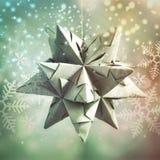 Decorazione fatta a mano di Natale Fotografia Stock