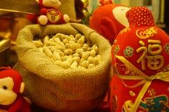 Decorazione festiva tradizionale cinese di festival di molla Fotografie Stock Libere da Diritti
