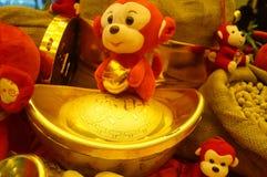 Decorazione festiva tradizionale cinese di festival di molla Immagini Stock Libere da Diritti