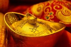 Decorazione festiva tradizionale cinese di festival di molla Fotografia Stock Libera da Diritti