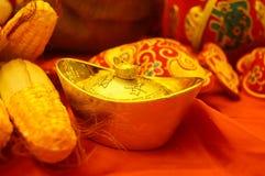 Decorazione festiva tradizionale cinese di festival di molla Immagini Stock