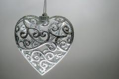 Decorazione a forma di del cuore Fotografia Stock Libera da Diritti
