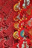 Decorazione fortunata cinese durante il nuovo anno Fotografia Stock Libera da Diritti