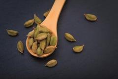 Decorazione francese dei macarons dell'anice stellato di concetto dell'alimento di festa dal mais e dall'anice stellato del pino Immagini Stock