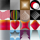 Decorazione geometrica astratta Immagine Stock Libera da Diritti