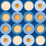 Decorazione geometrica (vettore) Fotografia Stock
