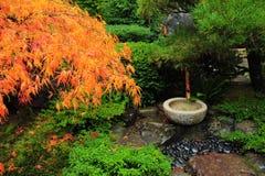 Decorazione giapponese del giardino Fotografie Stock Libere da Diritti