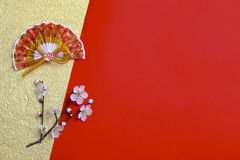 Decorazione giapponese del nuovo anno Immagini Stock