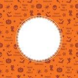 Decorazione a Halloween Fotografia Stock