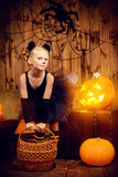 Decorazione Halloween Fotografie Stock Libere da Diritti