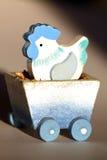 Decorazione handmade originale di Pasqua immagini stock libere da diritti