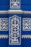 Decorazione intagliata della parete Fotografie Stock