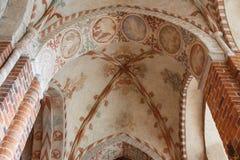 Decorazione interna della chiesa Fotografie Stock