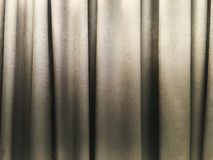 Decorazione interna di struttura grigio chiaro della tenda nella sala fotografia stock libera da diritti